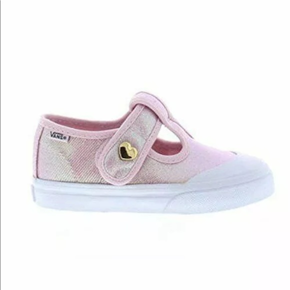 88424b4d36 Vans girls Leena pink shoes NIB size  2.5